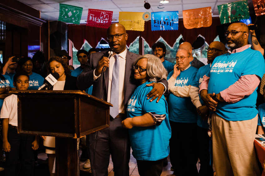 Jamaal Bowman has called for a one-on-one debate with U.S. Rep. eliot engel, whom he is hoping to unseat in the June Democratic primary. The debate demand.did not include fellow challenger Andom ghebreghiorgis.