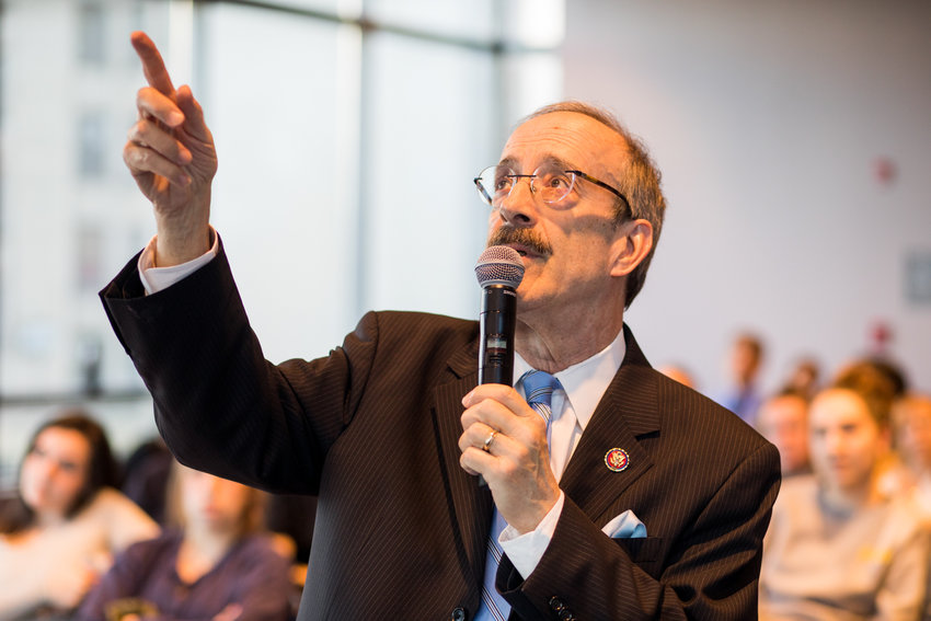 U.S. Rep. Engel is in one of New York's most expensive congressional primary races, but a new report says he's nowhere near the people he's asking to cast votes for him.