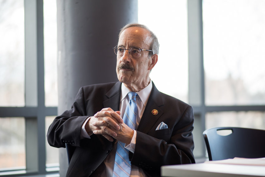 U.S. Rep. Eliot Engel participated in a debate against his three challengers: Jamaal Bowman, Chris Fink and Sammy Ravelo. Engel is facing his most difficult primary in years.