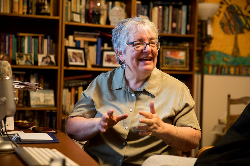 Despite the partial reopening for houses of worship, Rabbi Linda Shriner-Cahn is looking to continue services for Congregation Tehillah remotely, as she doesn't want to be in a position of preventing people from coming to worship in person.