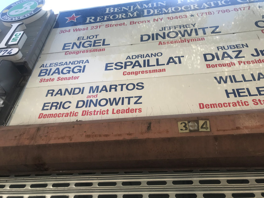 State Sen. Alessandra Biaggi wants to not only remove her name from the sign above the Ben Franklin Club headquarters on West 231st Street, she wants to leave the club all together. And start her own.
