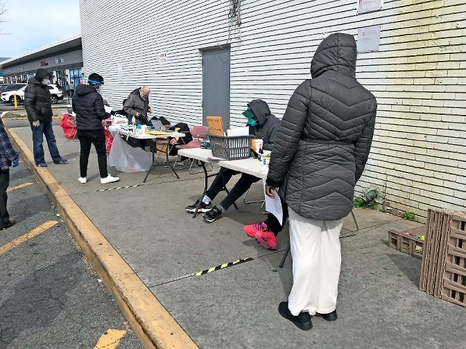 The Stop & Shop grocery store at 5716 Broadway was one of the first locations to host free testing by the state in late April, looking for people with antibodies to SARS-CoV-2, the virus that causes COVID-19.
