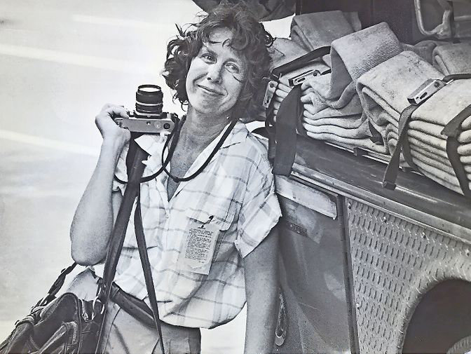 Gretchen McHugh's photography work graced the pages of The Riverdale Press through the late 1980s and early 1990s. She moved upstate to Granville in 1993, and died Aug. 20 at 78.
