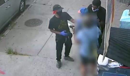 Police are looking for three men they say have hit the Bronx in a string of streetside jewelry robberies.