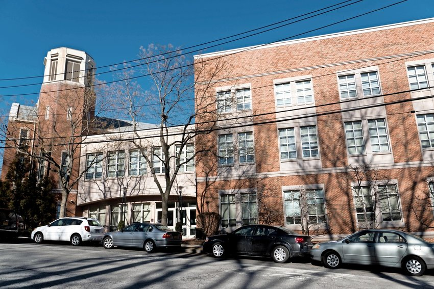 Horace Mann School has shut down the in-person classrooms of its middle and upper divisions following 'multiple' positive coronavirus tests. Classes more remote for at least the next two weeks.