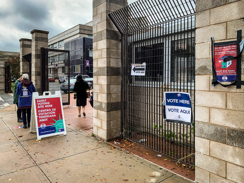 IN-Tech Academy saw thousands of voters over a week of early voting — part of more than a million who turned out early in New York City. That prompted election officials to expand hours while activists called for more locations in future elections.