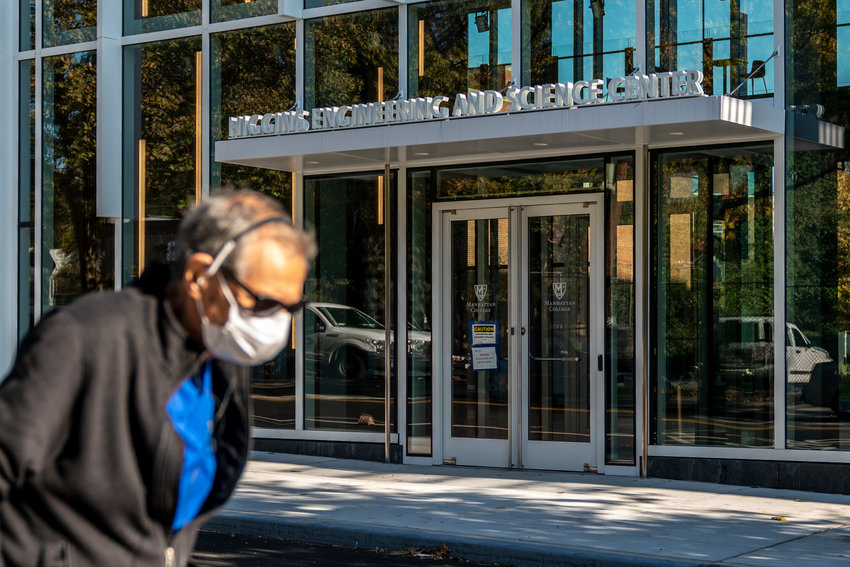 Manhattan College is one of several higher education institutions nationwide that furloughed employees in the wake of budget shortfalls — courtesy of the coronavirus pandemic. At Manhattan, more than two dozen were sent home beginning Oct. 30.