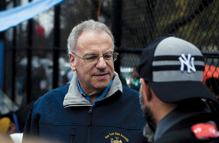 An appeals court delivered some good news to Assemblyman Jeffrey Dinowitz, removing a large chunk of a defamation lawsuit filed against him by a former P.S. 24 administrator, while vastly reducing the amount of money the lawmaker could be out if a court were to ultimately find against him.
