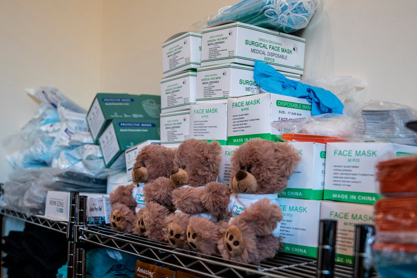 At her Bronx caregiving company Right at Home, Enrie Morales and her employees routinely treat Alzheimer's patients — the recipients of these stuffed animals. It's estimated some 5.5 million Americans — most older than 65 — have Alzheimer's disease, making it one of the most common fatal illnesses in the country.