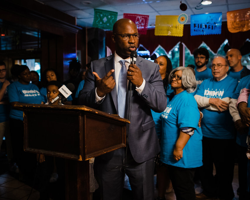 During his campaign, Jamaal Bowman was up against powerful incumbent Eliot Engel. But Bowman says the power comes from his constituents, and he's ready to 'fight like hell' to improve their lives from Washington.