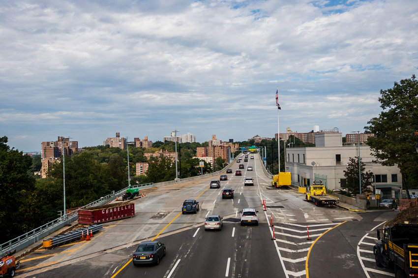 One lane at a time was closed on the northbound and southbound levels of the Henry Hudson Bridge in work that started in late 2017. Now, some three years later, all that work is finally complete.