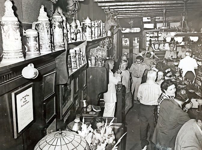 For decades, if you wanted to find the best place for a drink — and maybe even a steak — you're only stop would be Ehring's Tavern on West 231st Street and Godwin Terrace. Edward Ehring Sr. — who took over the business from his father — lined the tavern part with authentic German steins, while the restaurant portion was considered a perfect spot to take the one you love, especially when this was captured in 1978. Ehring's closed in 2000, and Ed Sr., died in 2005.