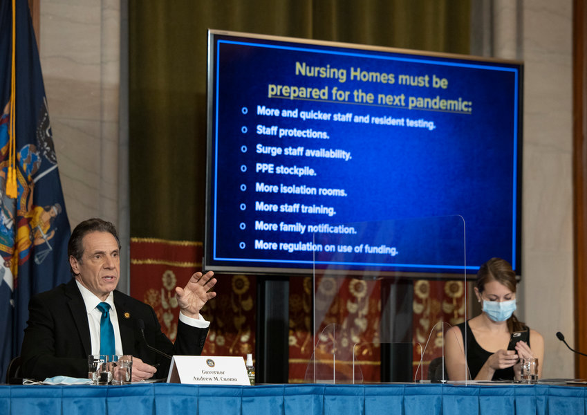 Around this time last year, Gov. Andrew Cuomo provided leadership in responding to the coronavirus pandemic that many say wasn't available from the White House. Now Cuomo is under fire from state lawmakers for his potential cover up of the state's COVID-19 nursing home death toll, not to mention growing claims of sexual harassment.