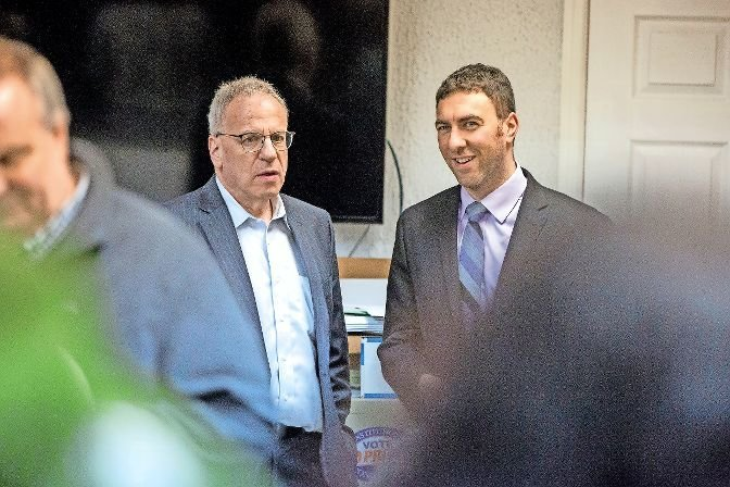 There could very well be two Dinowitz family members representing this area on both the city and state level, as Eric DInowitz, right, is poised to become the next city councilman, getting a huge boost from his father, Assemblyman Jeffrey Dinowitz.