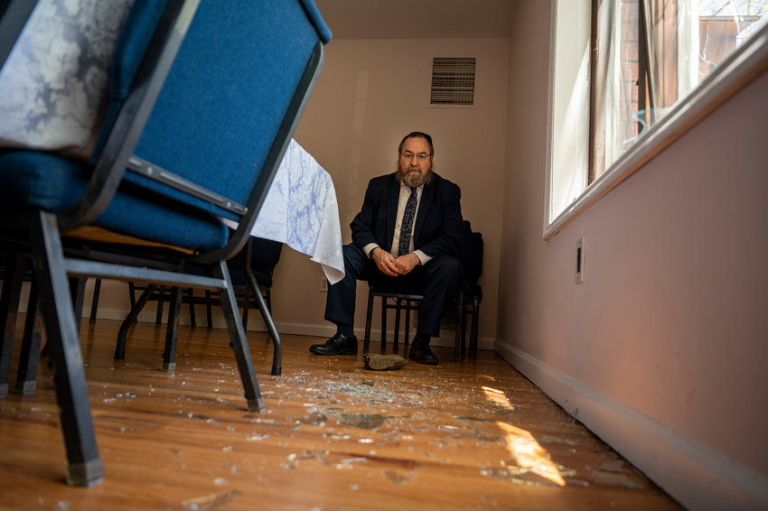 Rabbi Levi Shemtov says he's very disturbed by the vandalism of his synagogue, Chabad Lubavitch of Riverdale, over the weekend. Shemtov's shul was one of four targeted by a person police suspects smashed windows with rocks.