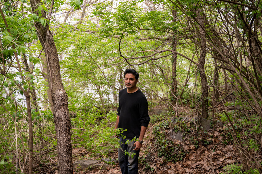 Looking for a hobby during the coronavirus pandemic, Victor San Andrés started landscaping a part of the Half-Moon Overlook park near his Spuyten Duyvil home. Four months later, San Andrés says he cleared and cleaned the space — transforming it into what he calls the 'Halve Maan Garden.'