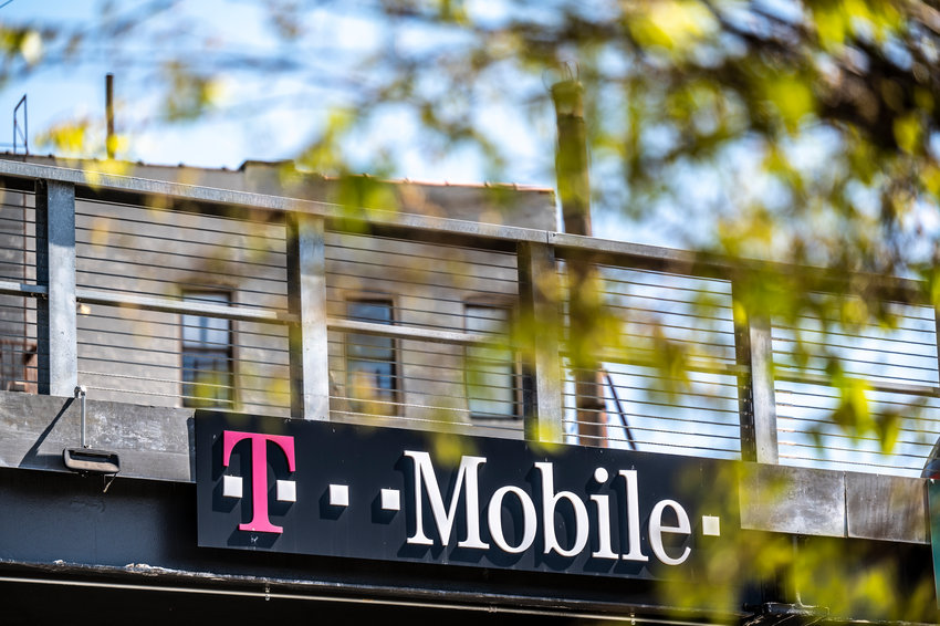 The exterior of the T-Mobile store at 193 West 237th Street.