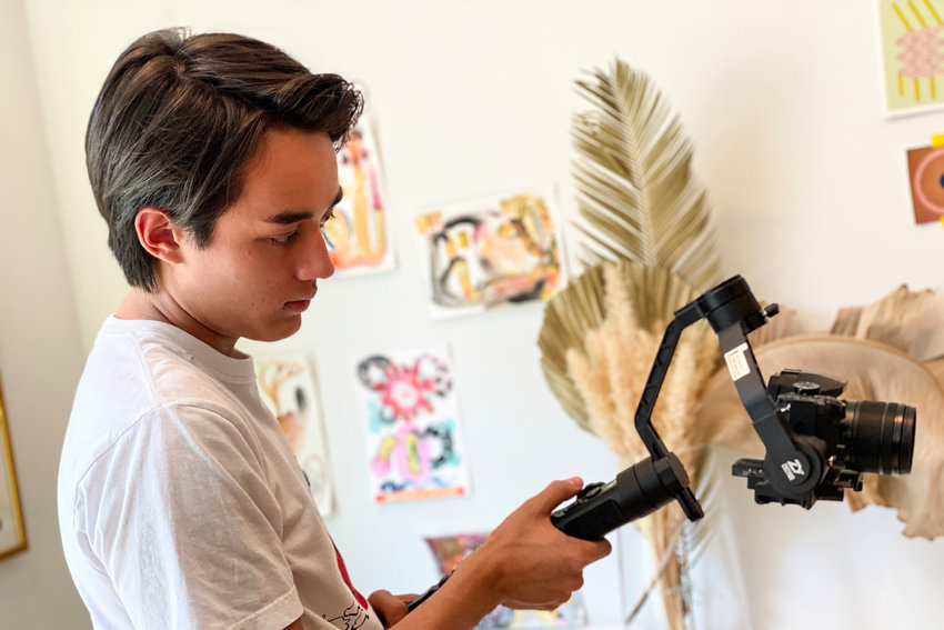 All throughout his years at Riverdale/Kingsbridge Academy, Jackson Van Horn can't resist being behind the camera, creating new short films for his friends and family to enjoy. Now he's taking it to the next level, heading to the University of Southern California's School of Cinematic Arts in Los Angeles.