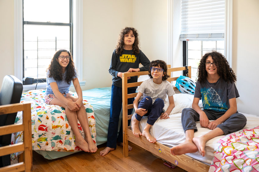 Loor, Jude, Luke and Joseph Nasser were four of the featured personalities in the short film 'Dog Poop.' Filmed by father Nicola, the video was one of 32 included in the third annual New York City Public School Film Festival.