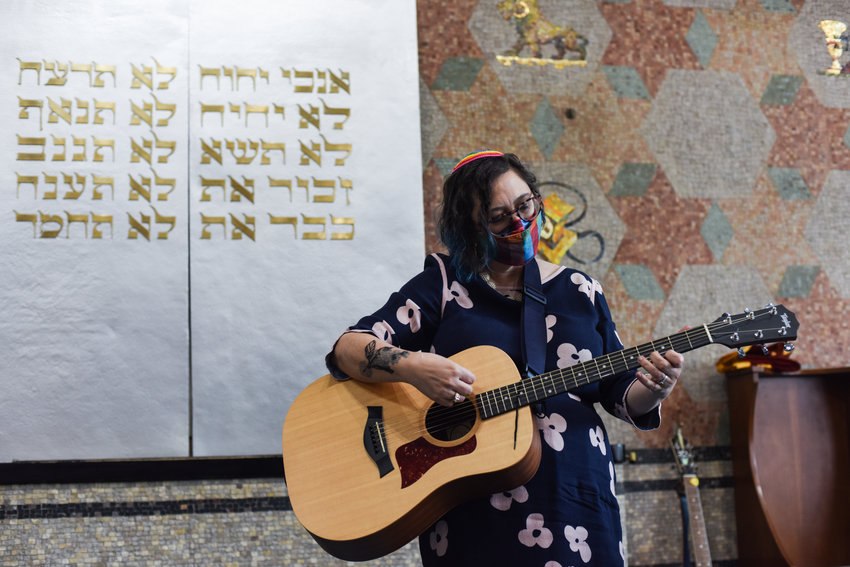 There's no Pride month without a Pride Shabbat at the Riverdale Temple. This year's guest speaker at the Independence Avenue synagogue was Rabbi Nikki DeBlosi, who has partaken in other Pride Shabbats and is a member of the Central Conference of American Rabbis.
