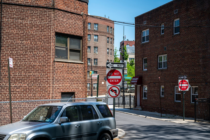 There are many traffic safety measures that should be implemented within Van Cortlandt Village, according to Nat Solomon: like 'no honking' signs, caution lights, and modifying a traffic island at Sedgwick Avenue and Van Cortlandt Avenue West. But the first two — along with other proposals — won't be discussed again until fall, when a new Community Board 8 session begins.