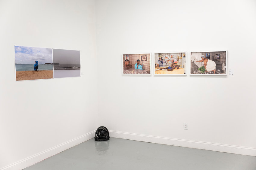 The exhibit 'In Between Yesterday, Today and Tomorrow' was open throughout June by appointment in the South Bronx. Now that the viewing period is over, the photographs will travel to some of the SUNY schools while two photographers will be chosen to be featured in Portland, Oregon's Blue Sky Gallery.