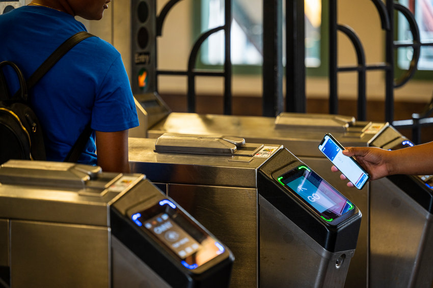 There are reports that one in every six commuters flash their smartphone or bankcard to pay subway and bus fares through OMNY. But are touch-free — and cashless — fares the way to the future? Some transit advocates say no.