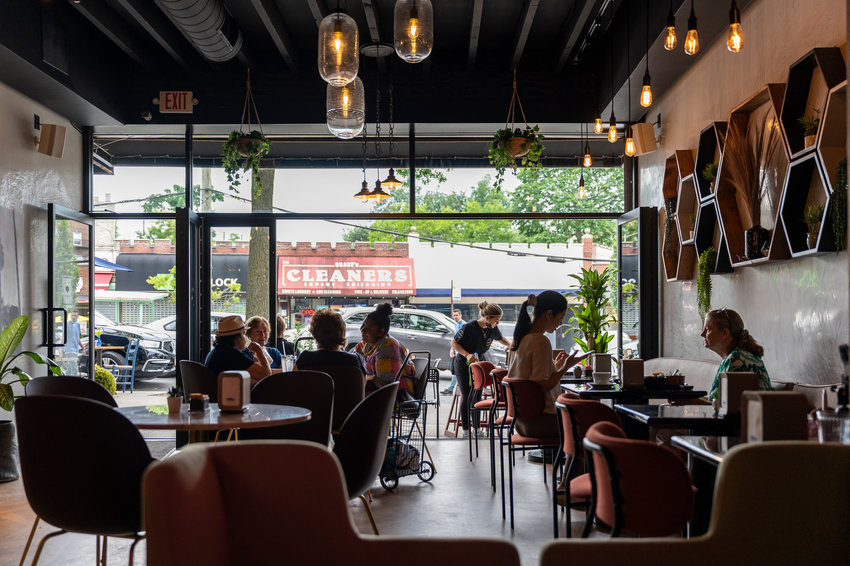 Tina Bakalli says her new coffee shop, Savor Coffee and More on Riverdale Avenue, is meant to provide the neighborhood with a European café experience. Savor began a soft opening late last month while still training its crew while hearing feedback on their menu.