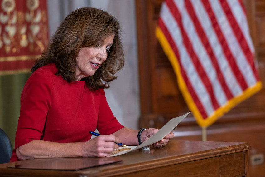 Gov. Kathy Hochul calls the legislature back into a special session beginning Sept. 1 to tackle the expired eviction moratorium, open meeting laws during a pandemic, and legalizing marijuana.