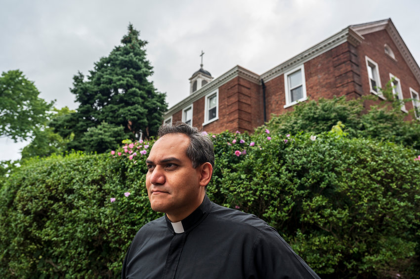 Father Joseph Franco takes over as lead pastor of Our Lady of Angels Church in Kingsbridge Heights, bringing with him not only a significant amount of experience in a similar role at nearby Sacred Heart Church in Highbridge, but also some deep Bronx roots — including having Manhattan College as his alma mater.