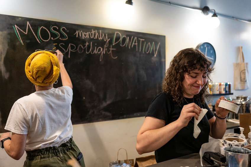 Tess Watts became Moss Café's first community outreach director last April. She believes that being grounded in community is integral to the Johnson Avenue eatery's operations, spearheading partnerships with organizations both local to the greater Riverdale area, and across the city.