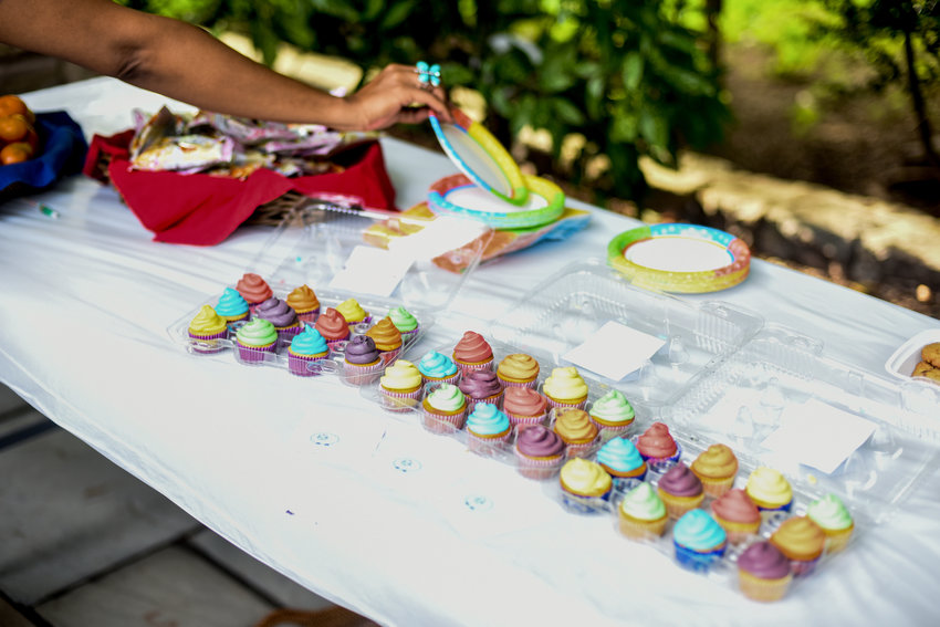 Lucy Kassel has been made cupcakes for various events locally, such as last summer's Pride Shabbat at the Riverdale Temple. She also made her popular treats for birthday parties and gatherings at places like the Professional Performing Arts School, where she's focused on drama.