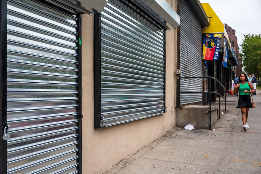 What once used to be a storefront across from Van Cortlandt Park is now expected to become a shelter for more than 100 single men beginning in 2023 at 6661 Broadway. Community Board 8 will address the proposal for the first time Oct. 13 at its health, hospitals and social services committee.