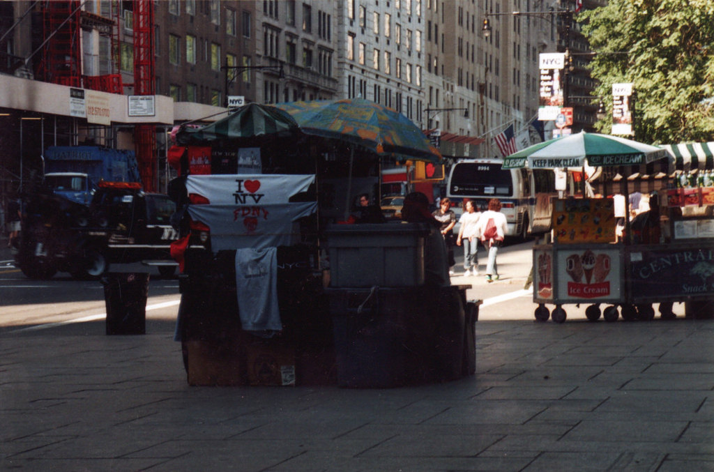 New York Vendor trying to make money