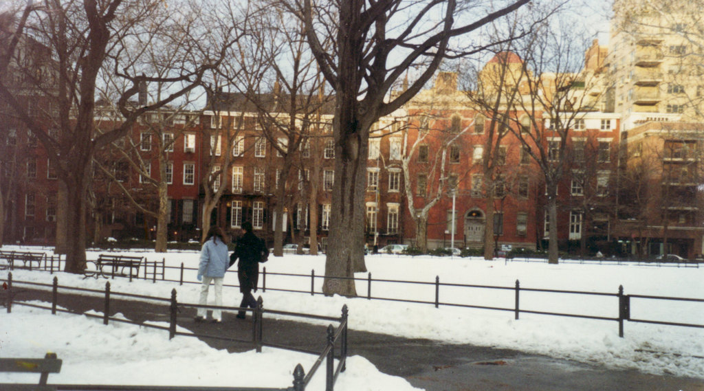 Wahington Square Park Winter Time