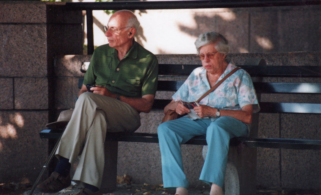 Sweet Seniors In Battery Park