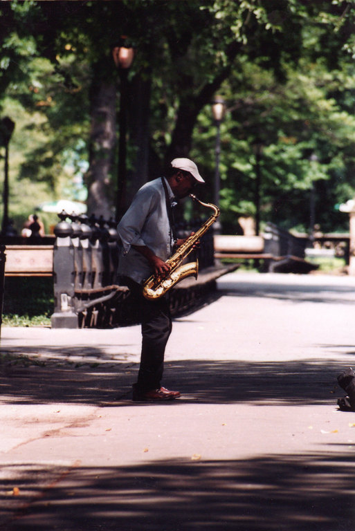 Music In The Park In Central Park