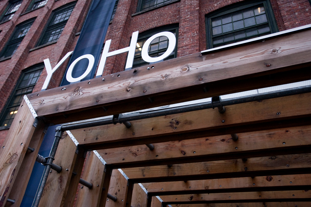 The YoHo arts space in Yonkers.