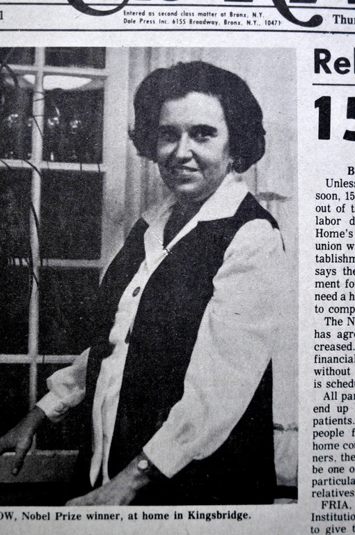 the life and work of rosalyn sussman yalow an american medical physicist But, as she recounted in her nobel prize autobiography, it took all the  in 1977,  only the second female laureate in medicine or physiology  getting admitted to  graduate school was problematic for rosalyn sussman,  in 1943 she married  fellow physics graduate student aaron yalow, and in  about us.