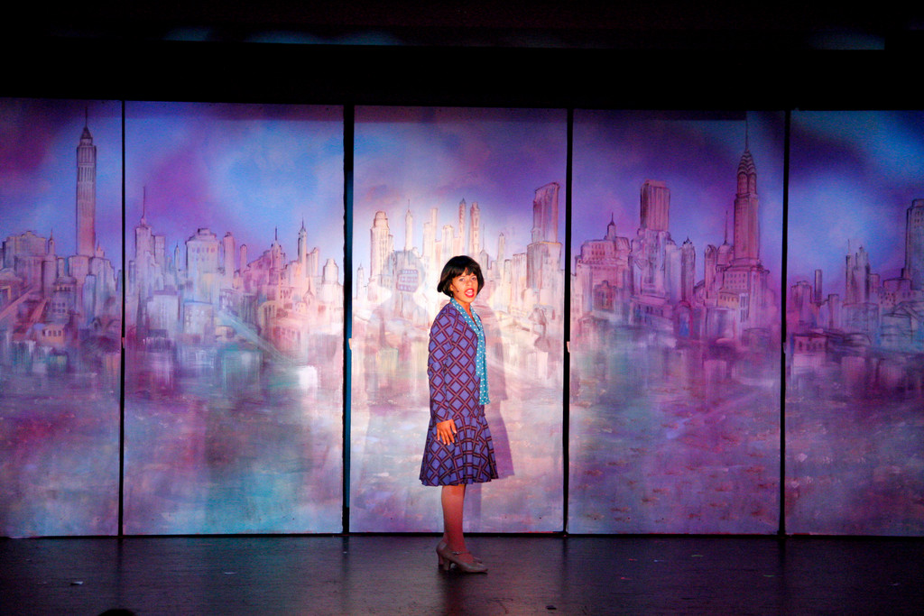 Isabel Rodriguez, who played Millie Dillmount in 'Thoroughly Modern Millie Jr.' takes the stage after intermission at the Riverdale YM-YWHA's Neuwirth Theatre on Aug. 7.