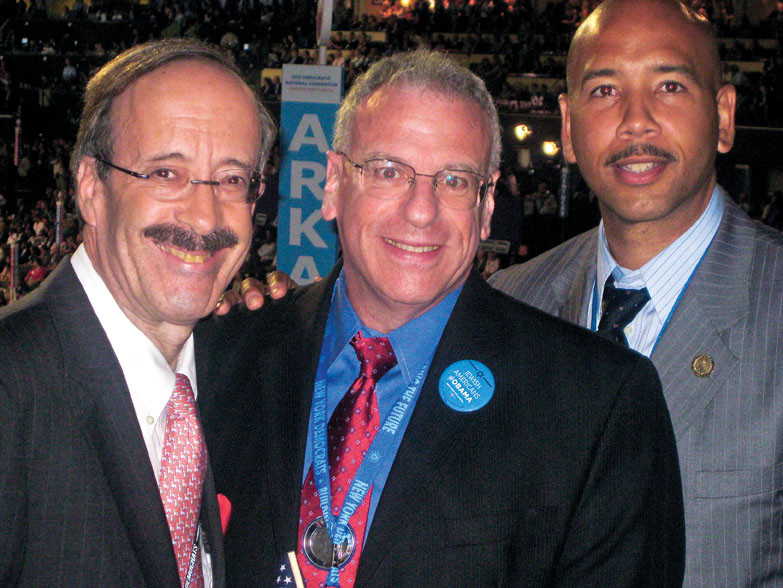 Rep. Eliot Engel, Assemblyman Jeffrey Dinowitz and Bronx Borough President Ruben Diaz Jr. attended the Democratic National Convention in Charlotte, N.C. last week.