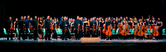 The National Symphony of Cuba, shown above, will perform on Saturday, Oct. 27.