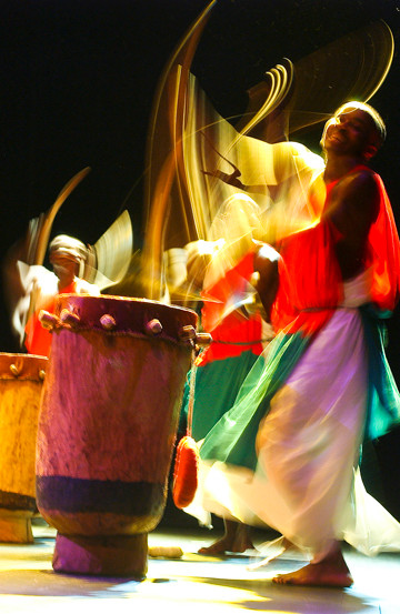 The Royal Drummer and Dancers of Burundi will perform on Sunday, Oct. 21.