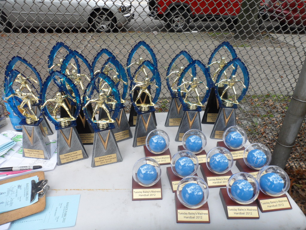 Bailey park Handball MVP/trophies
