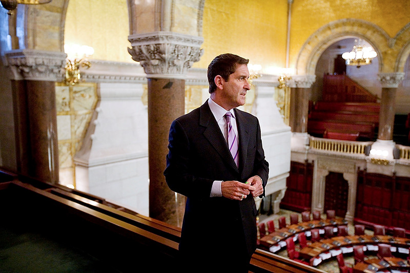 State Sen. Jeff Klein in the gallery of the Senate Chamber in 2009.