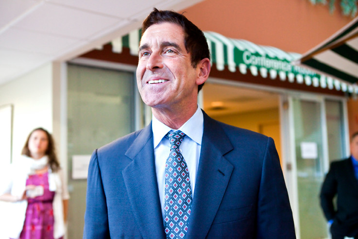State Sen. Jeff Klein was tight-lipped about how he would divvy up his newfound power when he spoke to 'The Riverdale Press' at a job fair last month.