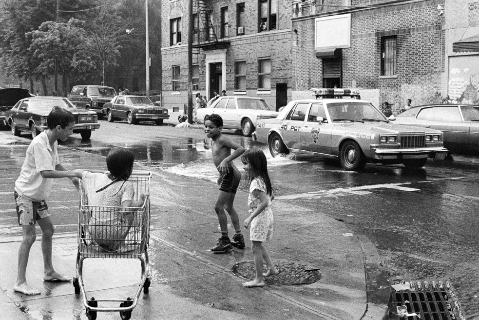 'Summertime, South Bronx,' 1987, by Edwin Pagán.