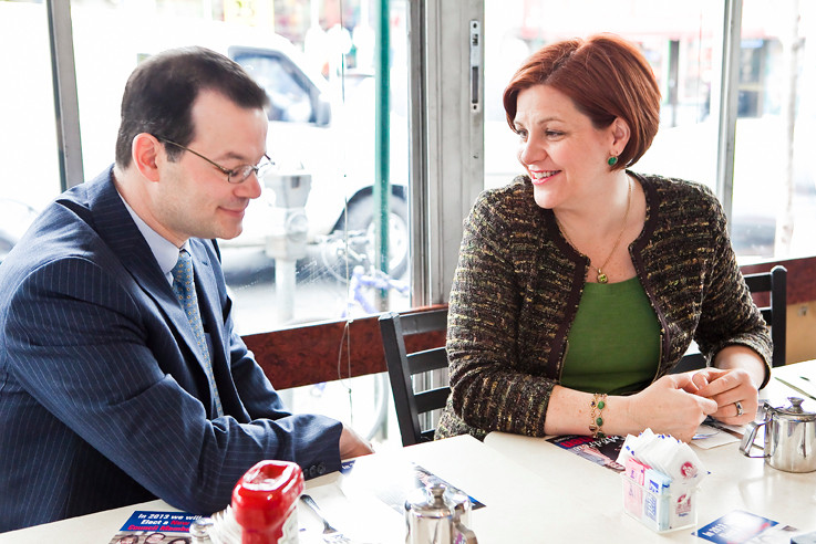 City Council Speaker Christine Quinn endorses Andrew Cohen for City Council District 11.