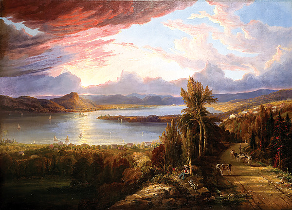 Robert Havell Jr.�s �Hudson River North to Croton Point� (1851)