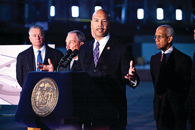 On April 23 Bronx Borough President Ruben Diaz Jr. describes how he anticipates the Kingsbridge National Ice Center will positively impact the community.